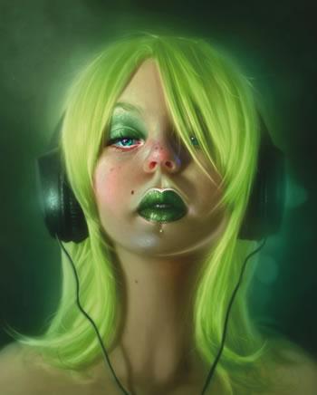 Tutoriel digital Painting maitriser les tons du visage