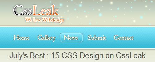 Design Spartan dans la sélection de CSSLeak