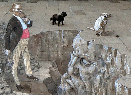 Chalk Painting Eduardo Ruiz Relero