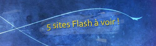 5 Sites flash à voir