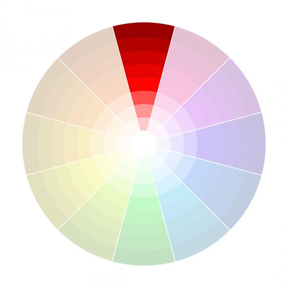 Guide du Digital Painting #7 : La Couleur : Monochromatique