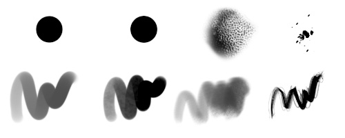Guide du Digital Painting 8 : custom brush