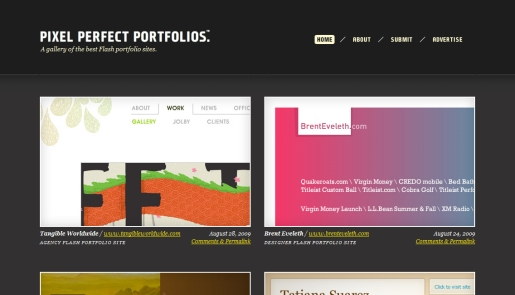 Pixel Perfect Portfolios