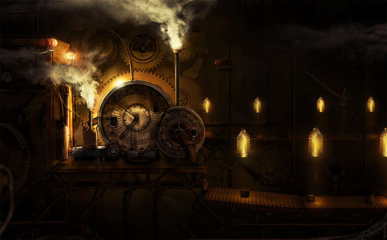 Slashthree : Steampunk