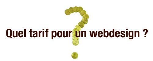 La facturation d'un webdesign