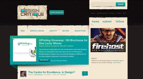 30 designs de blogs créatifs