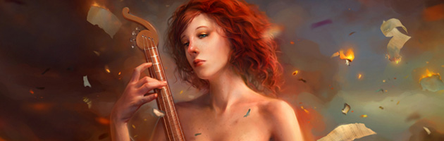 Cynthia Sheppard digital painting