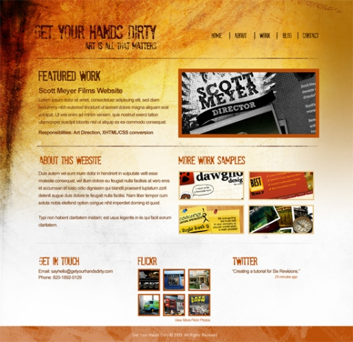 25 Photoshop Tutorials for Designing Portfolio Sites