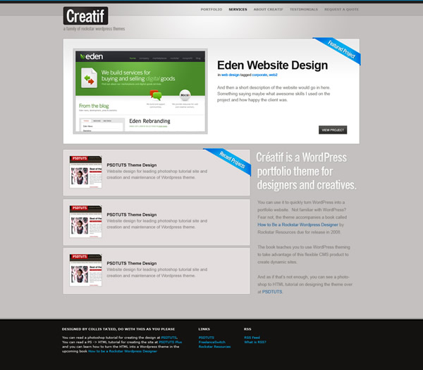 From PSD to HTML, Building a Set of Website Designs Step by Step