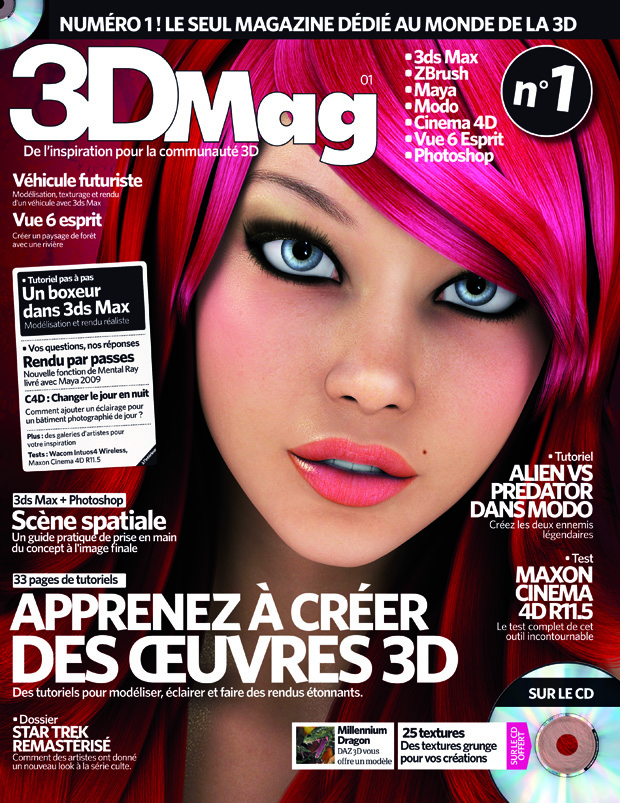 Concours : Gagnez 3DMag