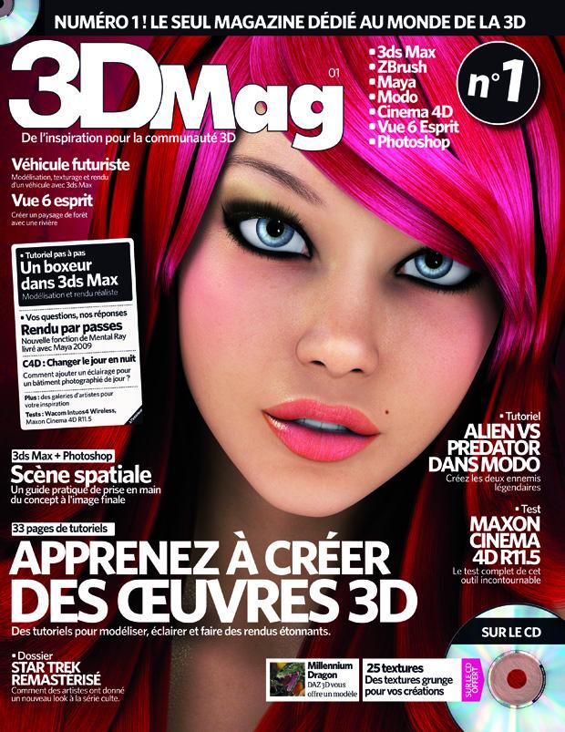 Concours : Gagnez 3DMag