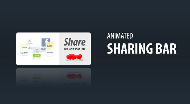 jQuery partage