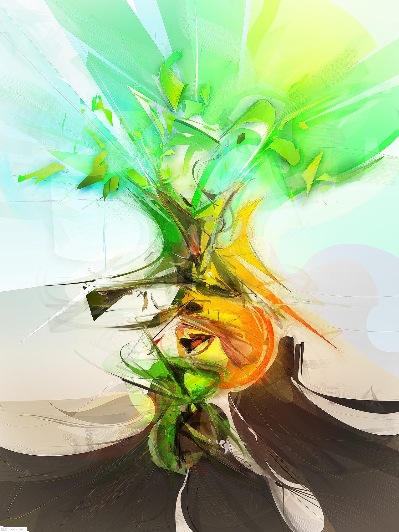 Evoke : digital art