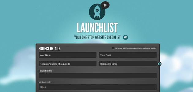 Liste créer site web