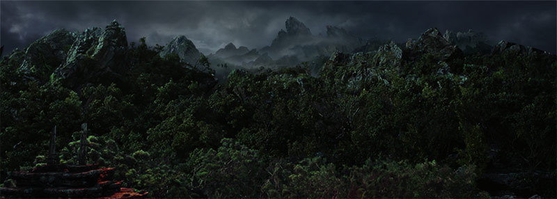 Matte painter Mathieu Raynault
