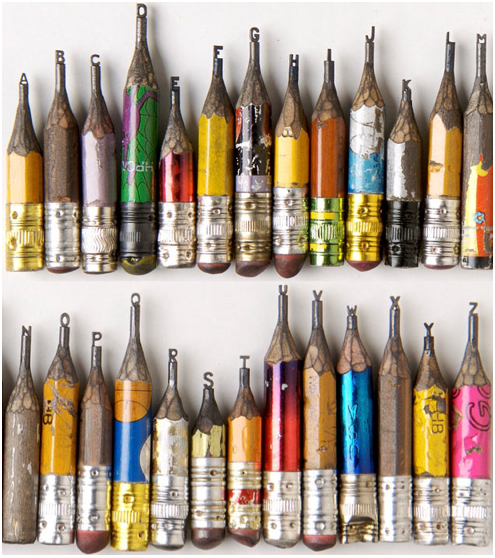 Présentation : Les sculptures de crayon de Dalton Ghetti