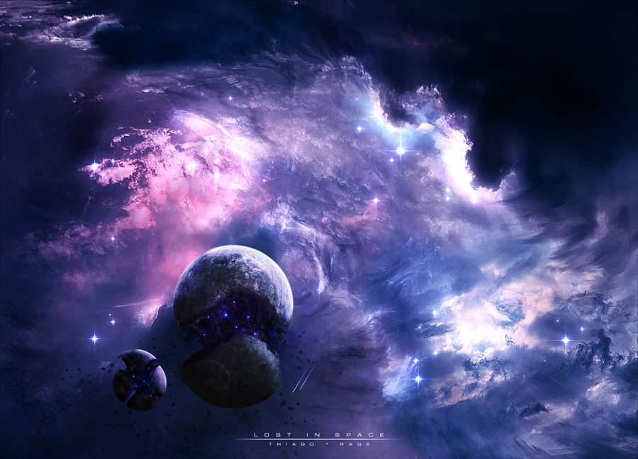 Tutoriel de space art