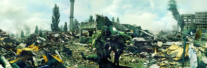 Matte Painting : WAR – Scène de guerre