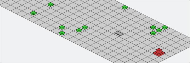 Action Script 3 : Mini-jeu en isométrique