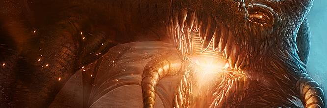 Digital painting : Peignez un dragon combattant pour sa survie