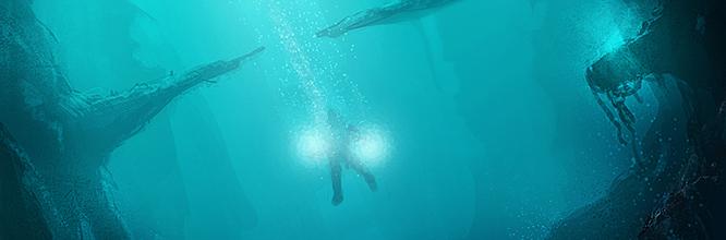Speed Painting : Peindre un environnement subaquatique en 1h !