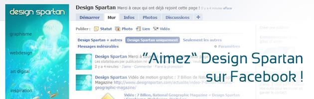 Aimez Design Spartan sur Facebook