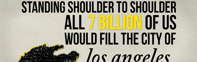 Motion graphic : 7 billion national geographic