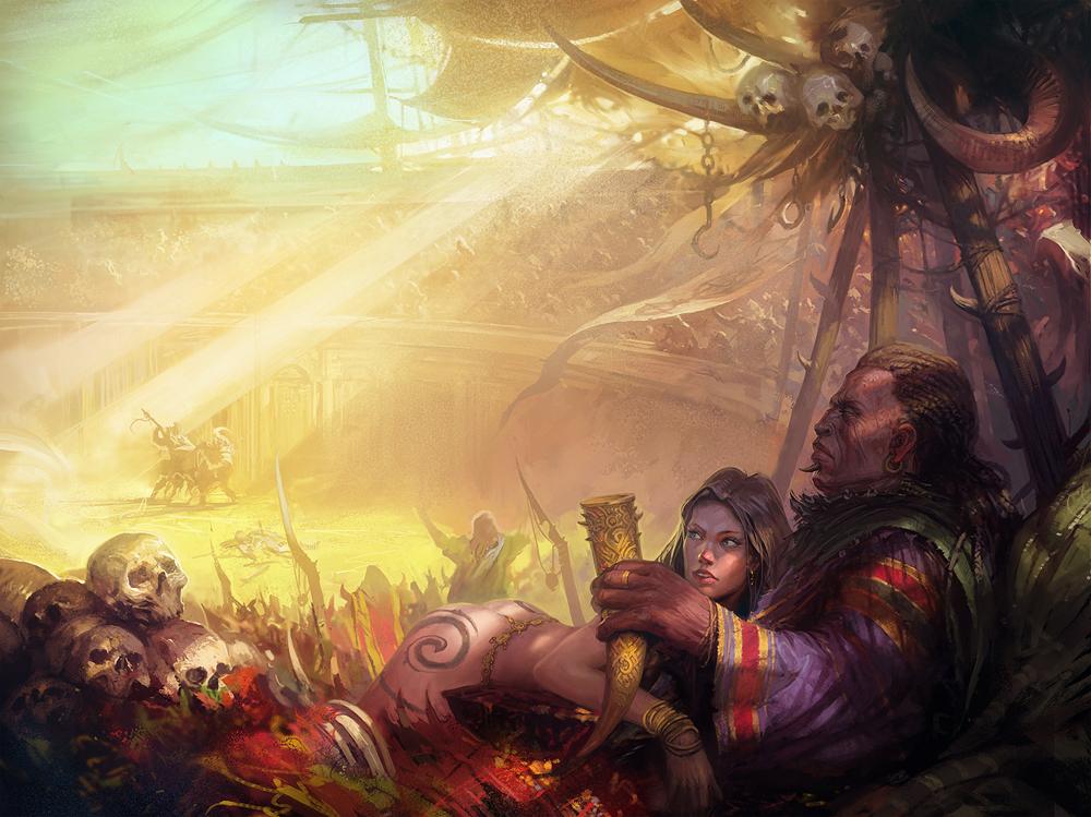 présentation : digital painter Viktor Titov aka Hamsterfly