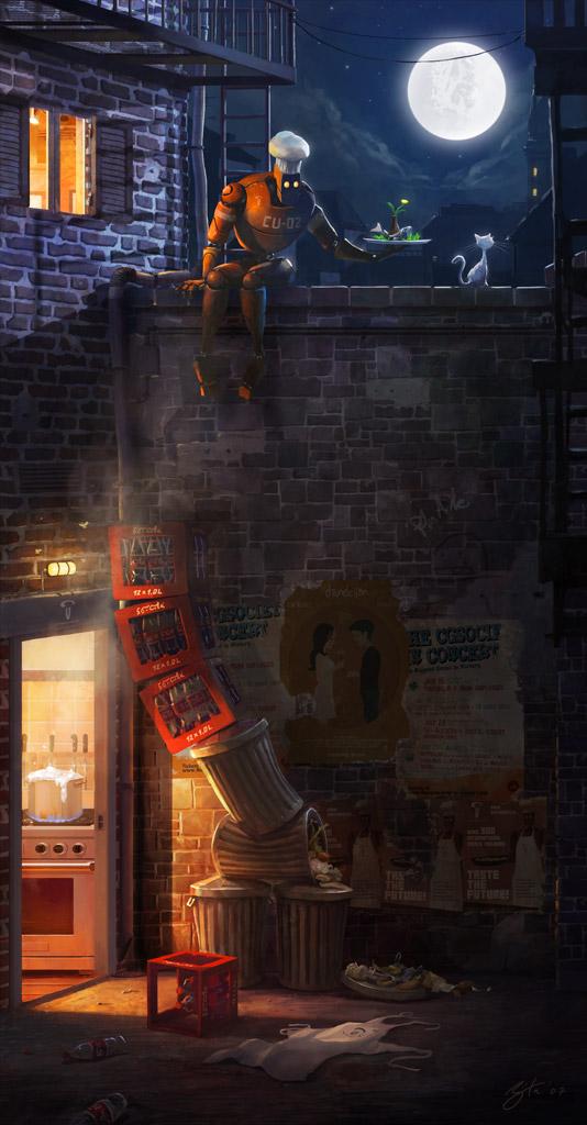 Présentation : digital painter Goro Fujita