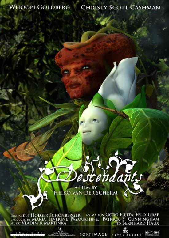 Vidéo d'animation en 3D : Descendants