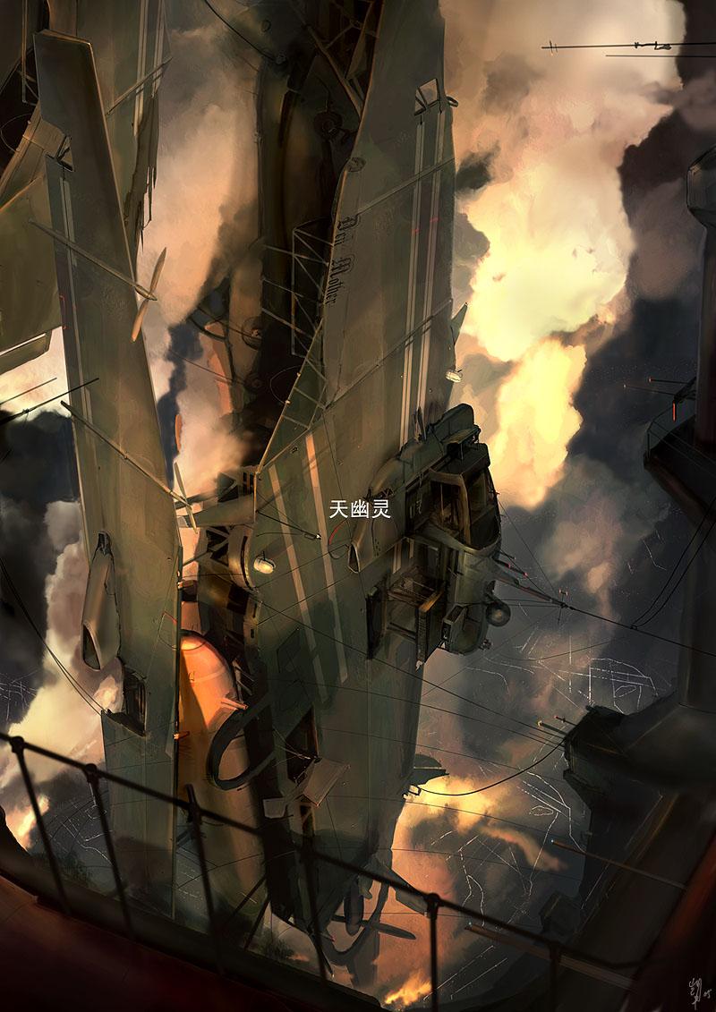 Concept artist Kai Lim