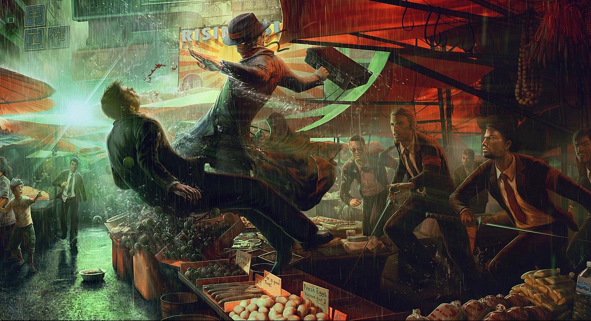 104 scènes d'action en Digital painting