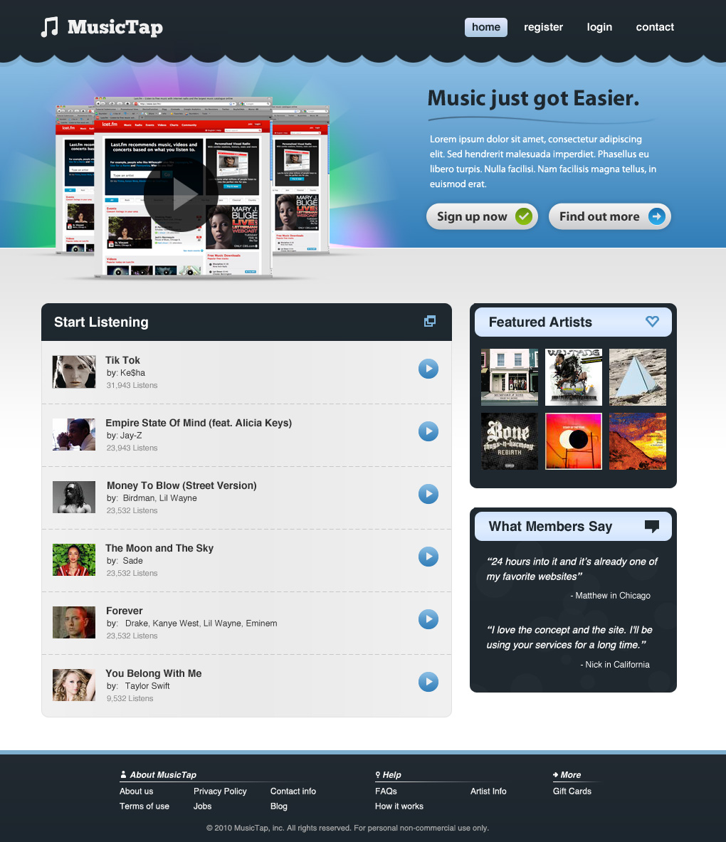 20 Tutoriels et outils pour le webdesign et l'intégration html/css/jquery