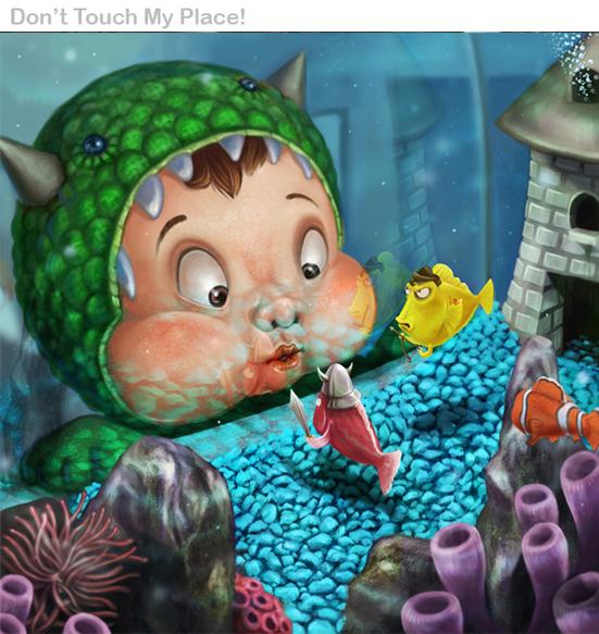 "Présentation : digital painter Vic Torior aka ""Wanchana Intrasombat"""