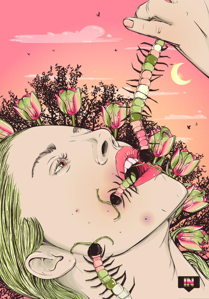 intrinsic Nature : Experiment 11 art digital