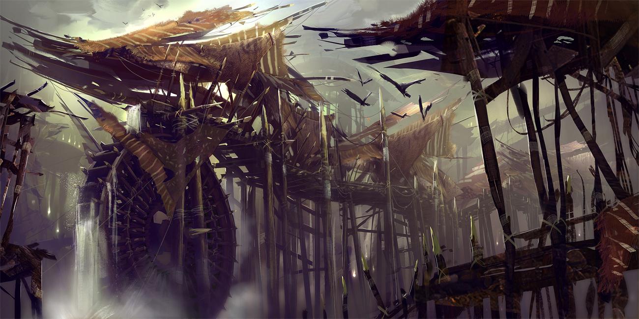Présentation : concept artist Levi Hopkins