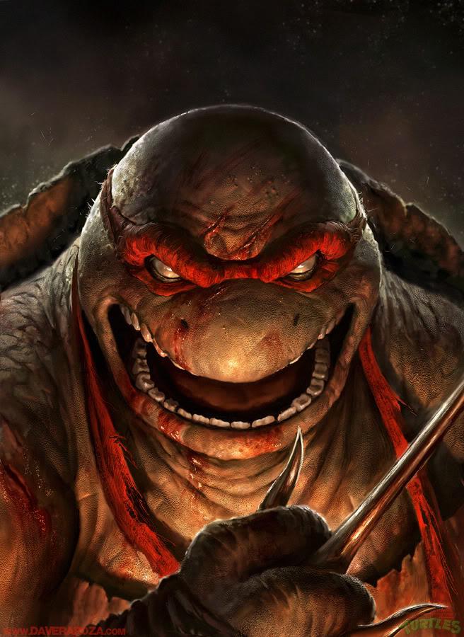 Les tortues ninja hyperréalistes de David Rapoza