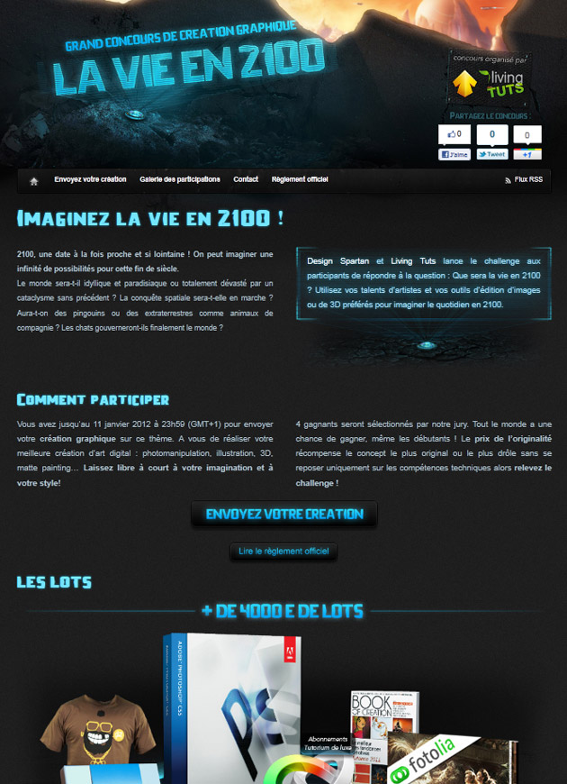 "Concours ""La vie en 2100"""