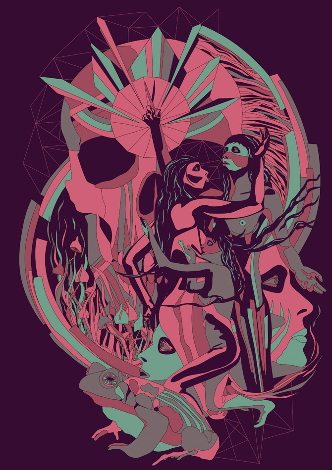 "Depthcore – nouvelle exhibition Chapter XLIII : ""Time"""