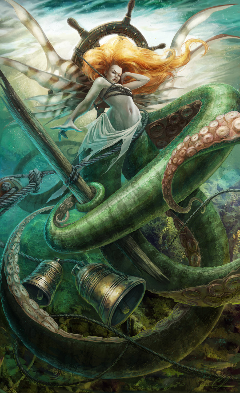Présentation : digital painter Carolyn Laplante aka SnakeToast