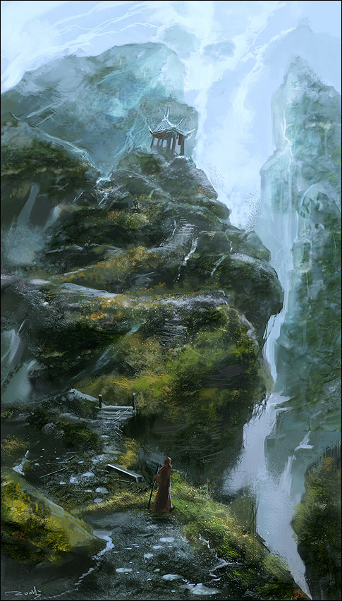 43 digital paintings de Kuang Hong aka noah-kh