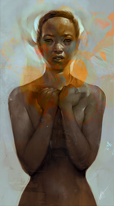 Les portraits en digital painting de Jeff Simpson