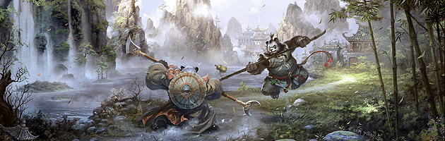 Les digital paintings de fantasy de Chao Yuan Xu