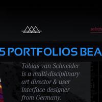 Sélection de 25 portfolios beaux et créatifs