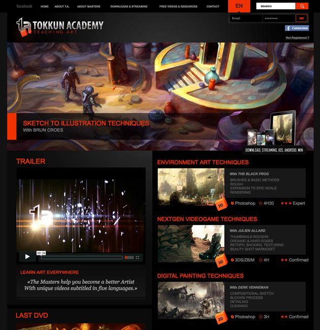 Tokkun Academy : nouveau site de formations en ligne sur l'art digital