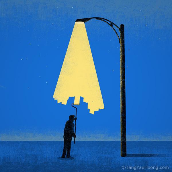 L'art de l'espace négatif et les illusions de Tang Yau Hoong