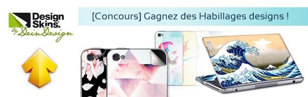 [Concours] Gagnez des Habillages designs avec DesignSkins