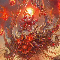 Les digital paintings de fantasy de Wangxiaoyu