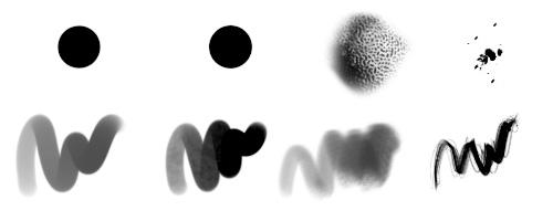 Exemple de customs brushs
