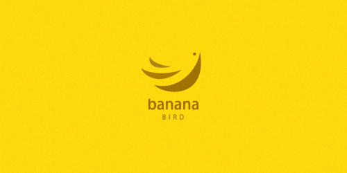 Logo Banana Bird